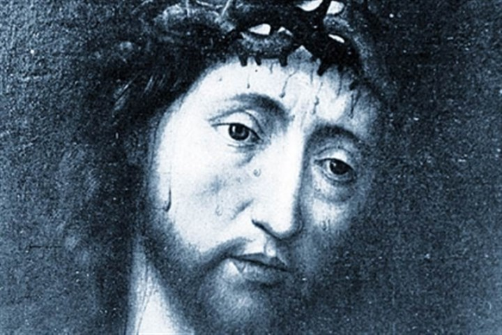 "jesussss ""Christ Crowned with Thorns"" by German artist Albrecht Durer (1471-1528)"