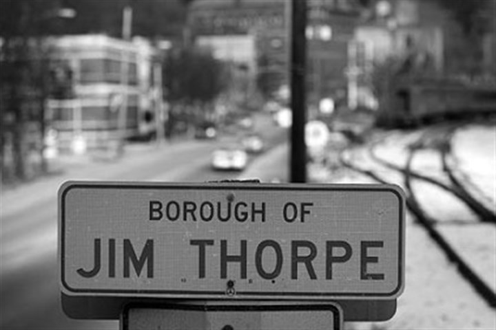 Jim Thorpe, Pa. If you're ready for a new name, get in touch.