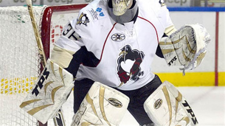 "John Curry Penguins goaltending prospect John Curry: ""I feel very in control of my game, and I'm excited to continue that and build on it."""