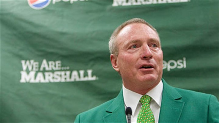 "John ""Doc"" Holliday Former West Virginia University associate head football coach John ""Doc"" Holliday was named the head coach at Marshall yesterday."