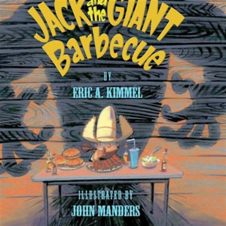 "John Manders of Oil City John Manders of Oil City, Venango County, nominated for book illustration. ""Jack and the Giant Barbecue."""