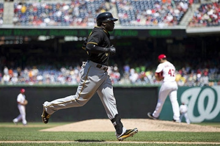 josh harrison running bases Josh Harrison hit a two-run homer in the sixth, and drove in two runs in the ninth to tie the game.