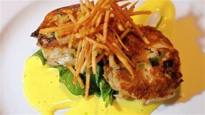 Jumbo Lump Crab Latkes Recipe — Dishmaps