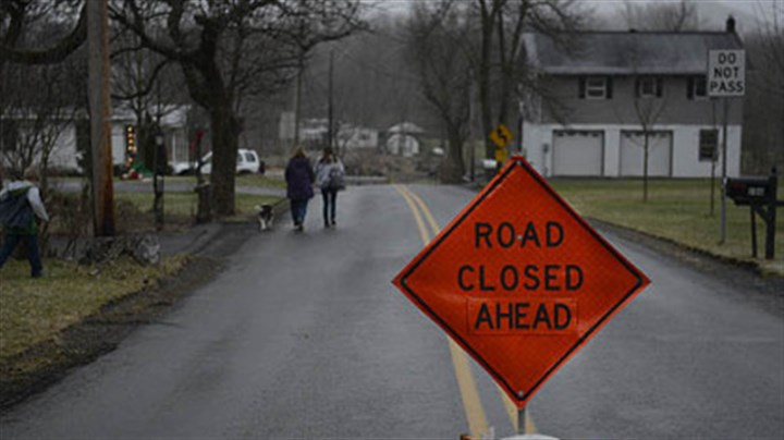 juniata rd Juniata Valley Road in Geeseytown, Blair County, remains closed while an investigation continues into several killings.