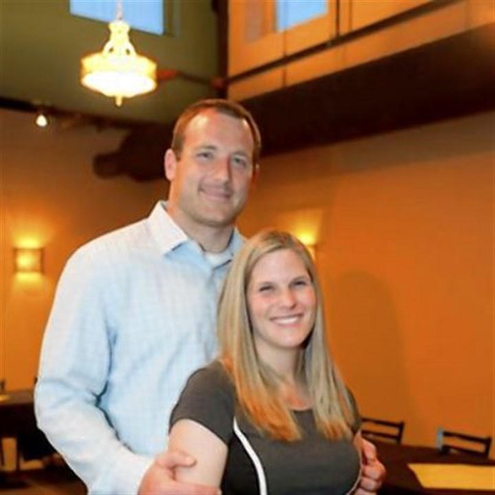 Katie and Heath Miller Katie and Heath Miller.