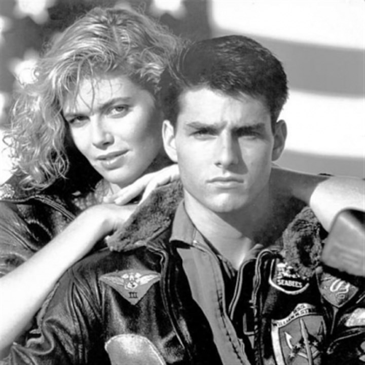 "Kelly McGillis and Tom Cruise Kelly McGillis and Tom Cruise star in the 1986 film ""Top Gun,"" which will be shown locally at AMC-Loews and Cinemark Tarentum."