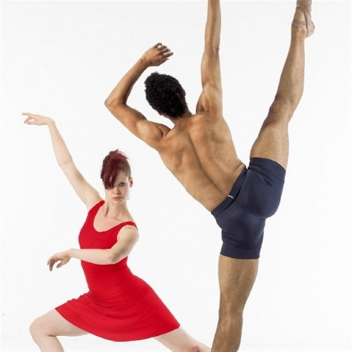 "Kelsey Bartman and Alan Obuzor Kelsey Bartman and Alan Obuzor will bring their Texture Contemporary Ballet troupe to New Hazlett Theater to perform ""There's Something About Fontina."""
