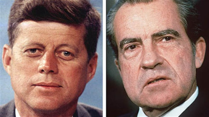 Kennedy vs. Nixon There is no doubt that John F. Kennedy had it all over Richard M. Nixon in the looks department, says University of Texas economist Daniel Hamermesh, who studies attractiveness. It's less certain how much of a difference it made in his narrow defeat of Nixon in the 1960 presidential race, Dr. Hamermesh said, because the general rule is the more you know the candidates, the less looks matter. On the other hand, he says, a host of studies has shown that good-looking candidates in state and local elections have an advantage.