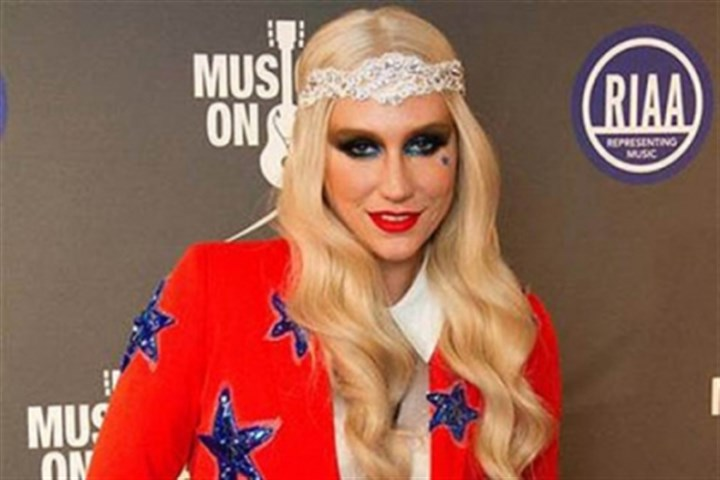Kesha Ke$ha arrives at the 2013 Presidential Inaugural Charity Benefit on Jan. 21.