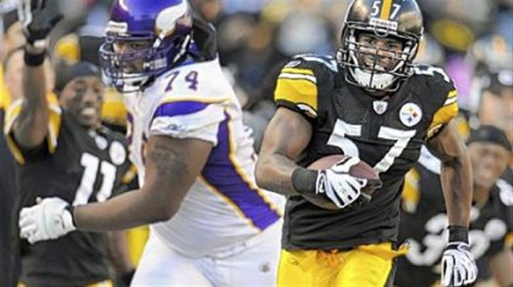 Keyaron Fox Steelers linebacker Keyaron Fox replaced injured linebacker Lawrence Timmons in Sunday's win against the Vikings.