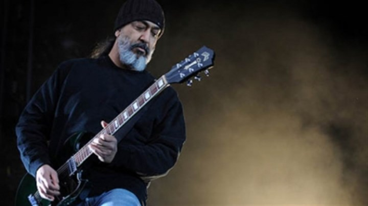 Kim Thayil of Soundgarden Kim Thayil, guitarist and founding member of Soundgarden, on stage Sunday night at Stage AE.