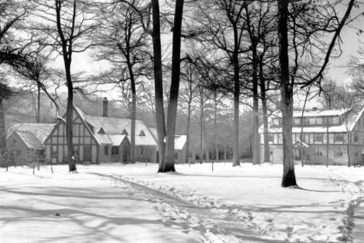 Kiski 2 The Kiski School campus in 1948 shows a dormitory, Gable Hall, to the left. It has been renamed MacColl Hall and is being renovated.