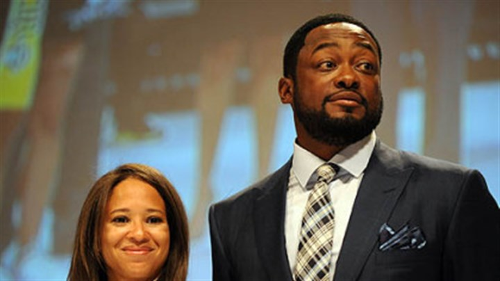 Kiya and Mike Tomlin Kiya and Mike Tomlin