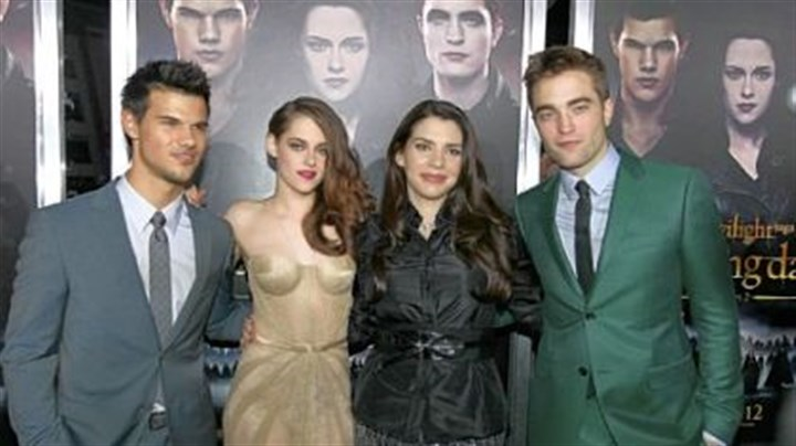 "Kristen Stewart, Mackenzie Foy, Robert Pattinson and Taylor Lautner Starring in ""The Twilight Saga: Breaking Dawn -- Part 2"" are, from left, Kristen Stewart, Mackenzie Foy, Robert Pattinson and Taylor Lautner."
