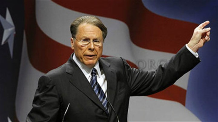 LaPierre National Rifle Association Executive Vice President and CEO Wayne LaPierre last year in Washington. He spoke this morning, one week after the Connecticut shootings.