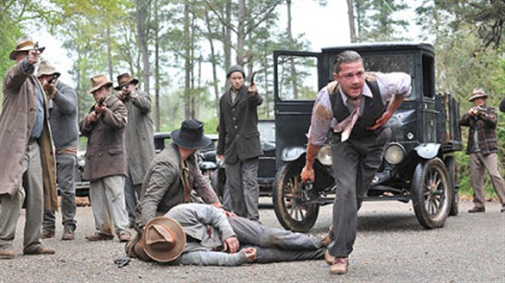 "'Lawless' Guns are drawn in ""Lawless,"" set in Prohibition-era Virginia."