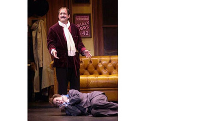"Lewis J. Stadlen and Don Stephenson Lewis J. Stadlen portrayed Max Bialystock to Don Stephenson's Leo Bloom when ""The Producers"" came to the Benedum Center in 2002. Mr. Stadlen will be Tevye in Pittsburgh CLO's ""Fiddler on the Roof,"" opening Friday."