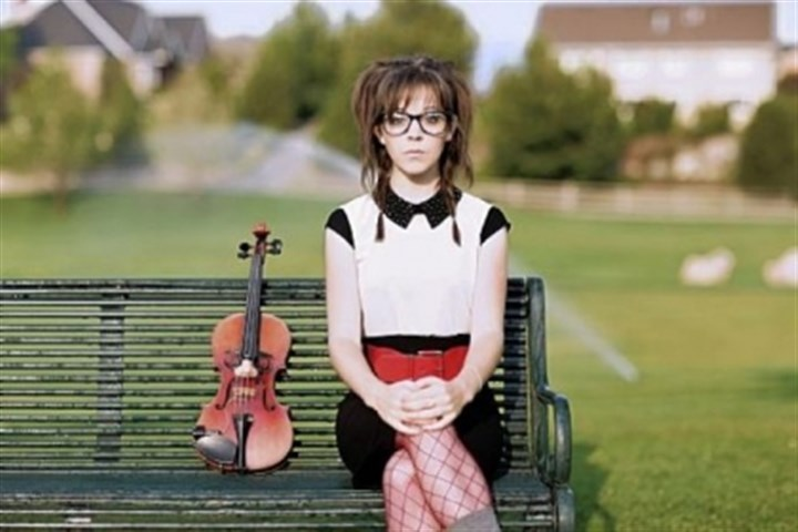 Lindsey Stirling Lindsey Stirling will pull out the strings at Stage AE tonight.