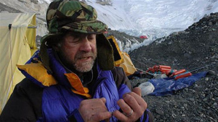 Listing the benefits of chocolate At Camp 2, Sir Ranulph Fiennes lists, by way of frost-bitten fingers, the beneficial properties of chocolate on expeditions.