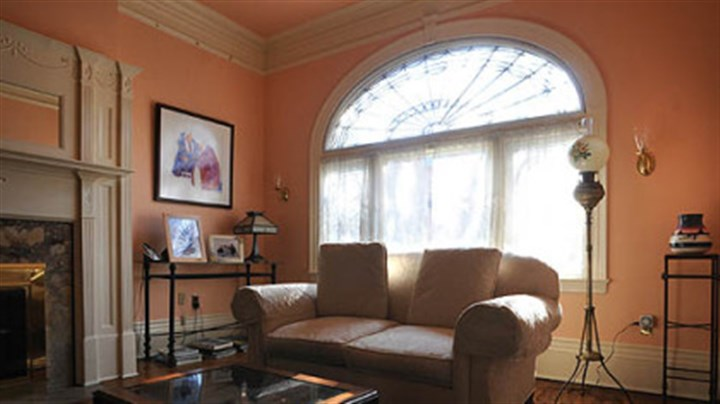 Allegheny west home combines an elegant design with an for Living room 102