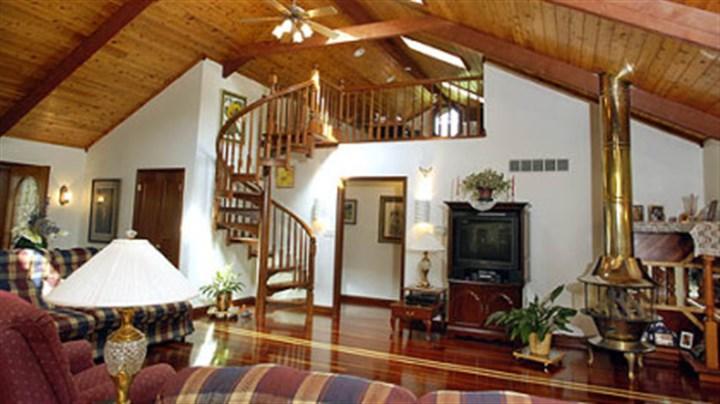 Real estate a wood wonder pittsburgh post gazette for 10 foot living room