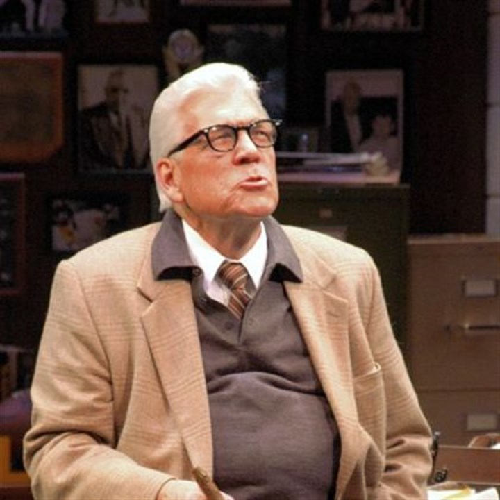 "Local theater in January ""The Chief,"" the one-man show starring Tom Atkins as Art Rooney, celebrates its 10th anniversary with a run at Pittsburgh Public Theater."