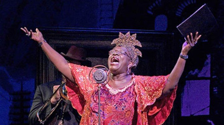 "'Ma Rainey': Ebony Jo-Ann Ebony Jo-Ann in the title role of ""Ma Rainey's Black Bottom"" at Kennedy Center."