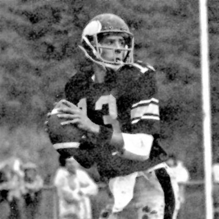 Marino passed and ran Marino passed and ran his way to Parade All-American honors at Central Catholic 35 years ago.
