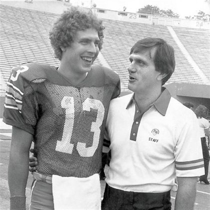 marino Dan Marino and Jackie Sherrill would help Pitt rebound to finish No. 2 in the final Associated Press poll.