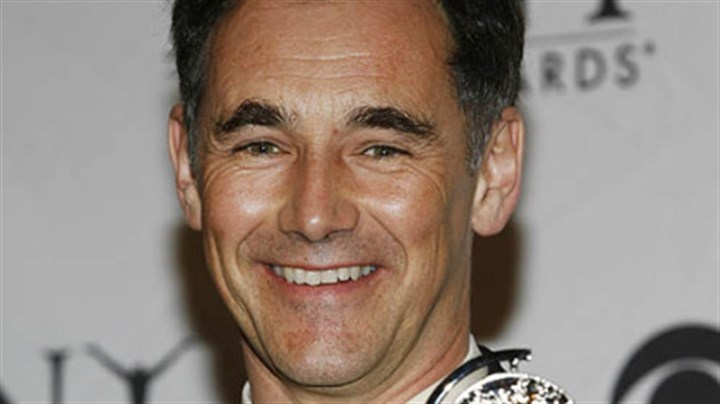"MarkRylance110413 Mark Rylance wins one of his two best-actor Tony Awards, for ""Boeing-Boeing."""