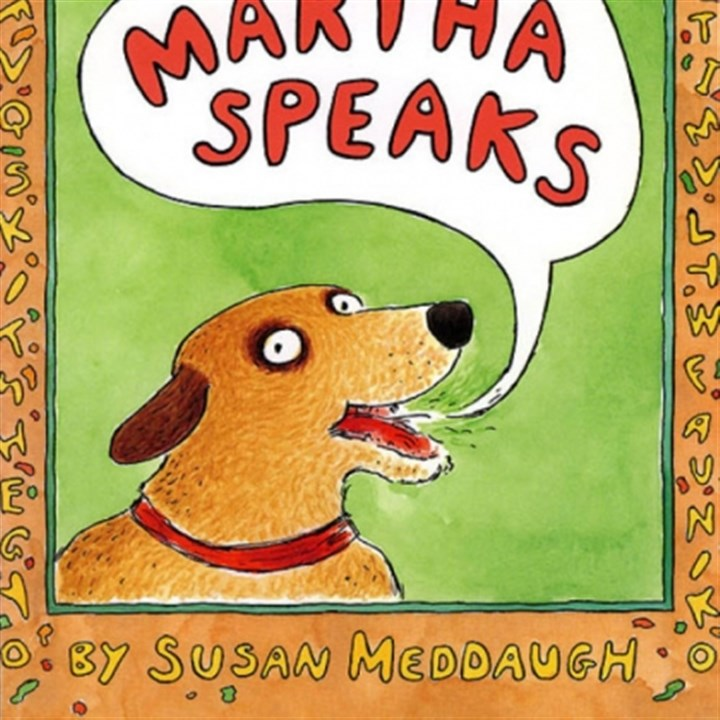 "Martha Speaks book ""Martha Speaks"" by Susan Meddaugh"
