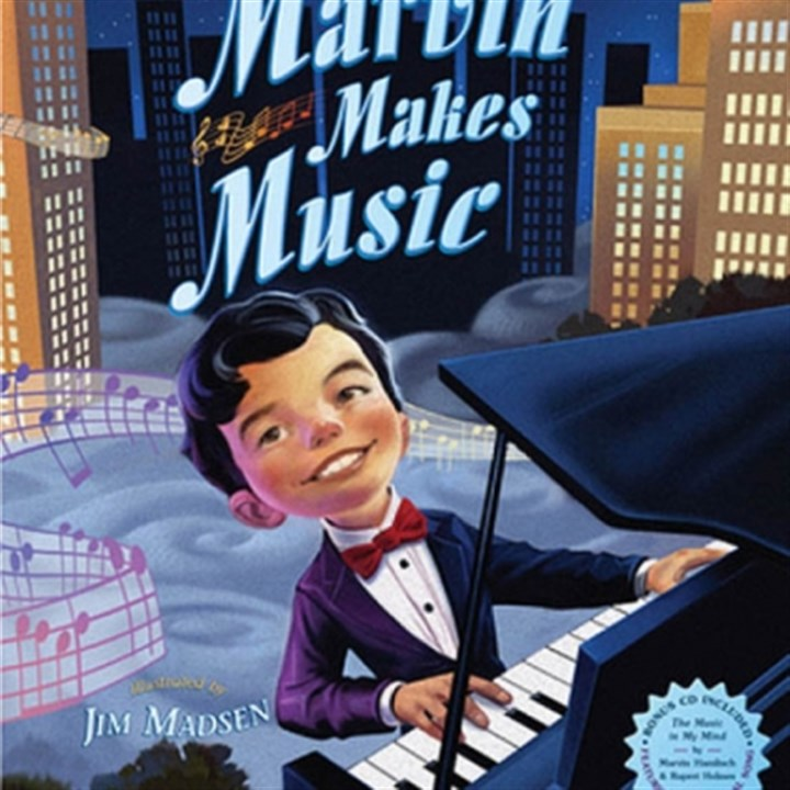 "'Marvin Makes Music' ""Marvin Makes Music,"" by an autobiographical children's book by Marvin Hamlisch."