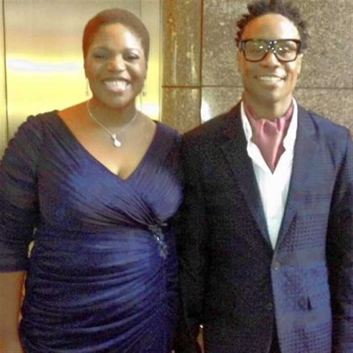 MaryMartha Ford and Billy Porter Billy Porter shared the red carpet with his sister MaryMartha Ford at Sunday's Tony Awards.