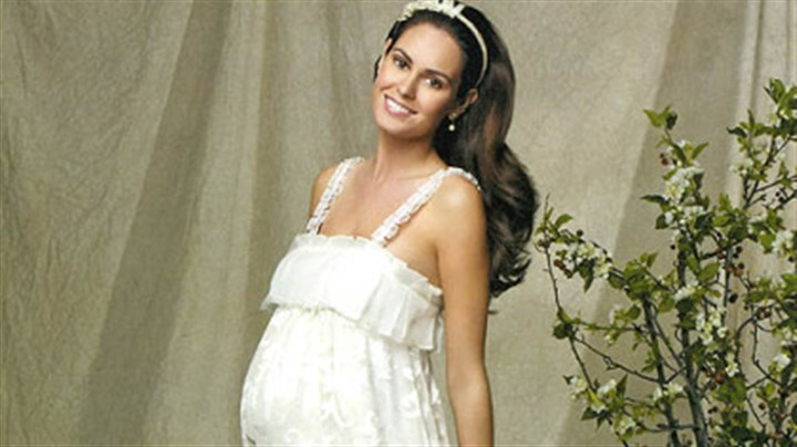 Maternity Wedding Gown: Commentary: White Wedding Dresses Are Losing Their Taboo