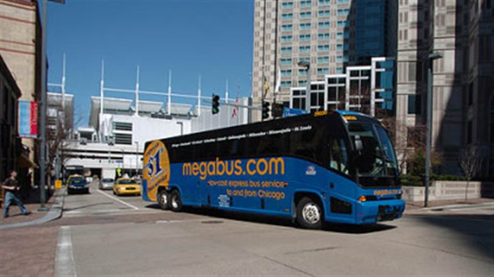 Megabus The Megabus stop has been moved to Gateway Center.