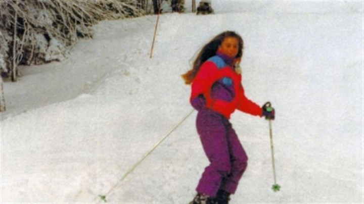 Meghan Wilson skiing A 1996 skiing accident left Meghan Wilson with quadriplegia.