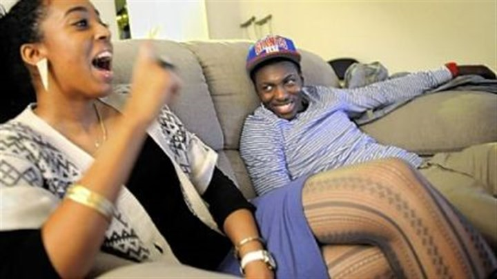 Melanie Wilmot and Tray Woodall Melanie Wilmot, 22, talks about her boyfriend, Pitt point guard Tray Woodall, right, at his apartment. The day she met him, she never would have known that a decade earlier he had been selling drugs on the streets of Brooklyn.