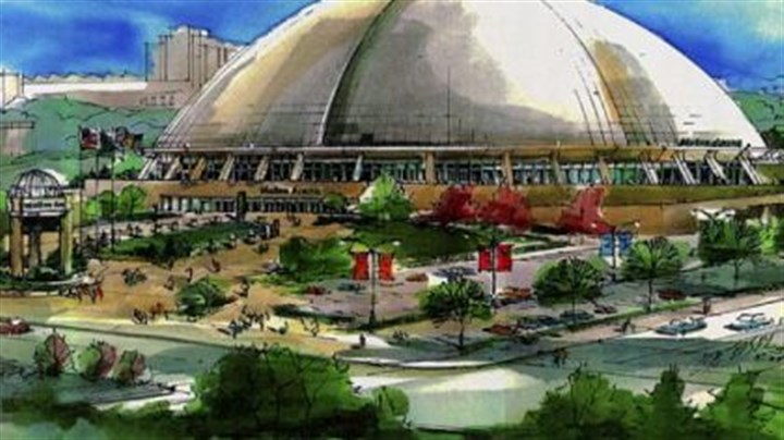 Mellon Arena A drawing of Mellon Arena, home of the Penguins.
