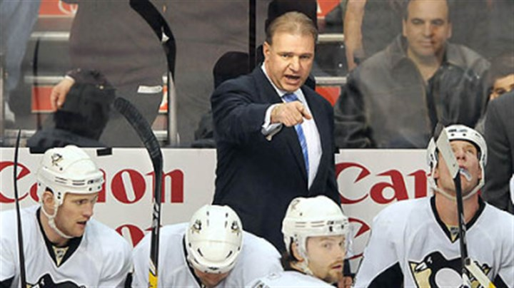 Michel Therrien Therrien is 108-80-18 in two-plus seasons behind the Penguins' bench.