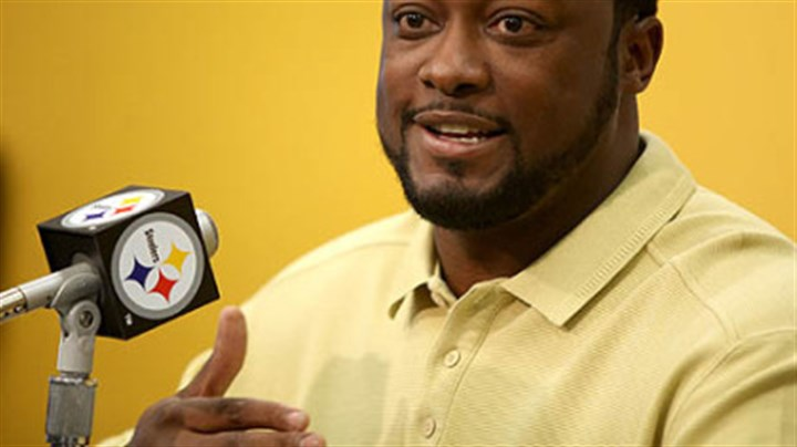 "Mike Tomlin Steelers coach Mike Tomlin on Rashard Mendenhall potentially scoring a second touchdown Sunday in New Orleans: ""There wasn't a bunch of video evidence available to us, and the guys on the field didn't seem to think it was a challengeable play, so we didn't."""