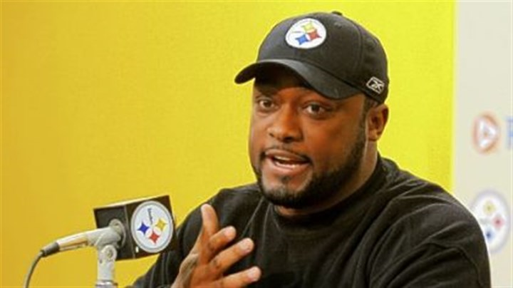"Mike Tomlin Steelers coach Mike Tomlin on playing in Cleveland Sunday: ""Anytime in the National Football League you're getting on the bus to go play a game, man, that's a pretty heated rivalry."""