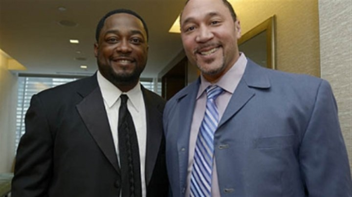 Mike Tomlin and Charlie Batch Mike Tomlin and Charlie Batch