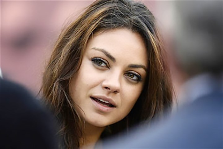Mila Kunis Actress Mila Kunis is spotted at Heinz Field Sunday.