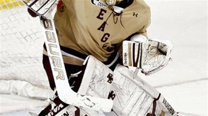 Milner Parker Milner, a Mt. Lebanon native, will lead the Eagles into the Frozen Four as arguably the hottest goaltender in college hockey.