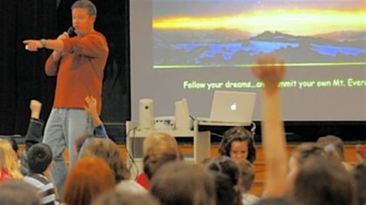 Mountain climber Steve Mellon/Post-Gazette