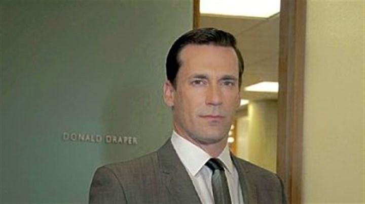 "Mr. Hamm portrays 1960s ad man Don Draper Mr. Hamm portrays 1960s ad man Don Draper in ""Mad Men,"" which begins its fifth season Sunday on AMC."