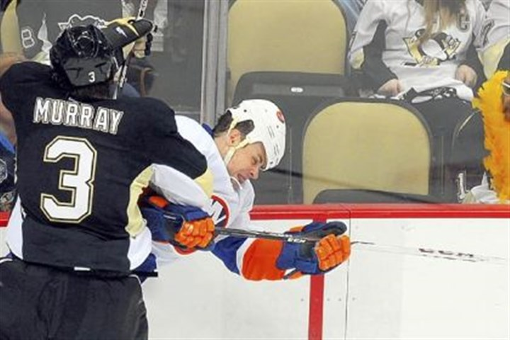 murray Penguins defenseman Douglas Murray, like some teammates, was stunned that the team would be swept by Boston.