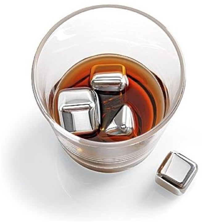 n'ICE Cubes(TM)Stainless Steel Drink Chillers n'ICE Cubes(TM)Stainless Steel Drink Chillers