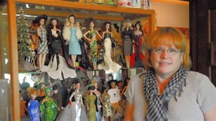 Nancy Parsons Nancy Parsons of Unity Township is a Barbie doll collector who hosted a big doll convention in Washington, D.C.