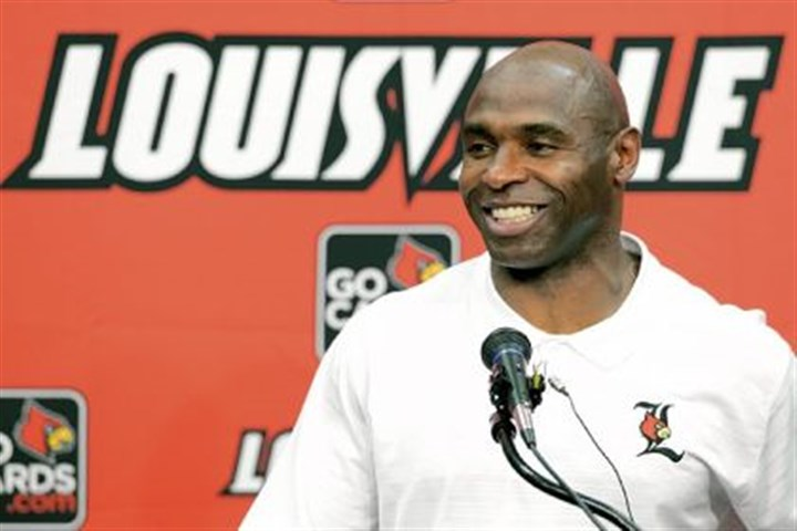 New conference, new opponents New conference, new opponents but same old favorite == Charlie Strong and Louisville.